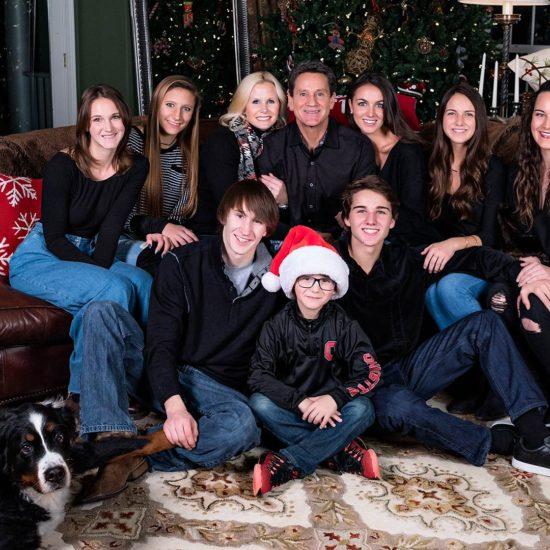 Dayton Family Christmas Portrait Photography