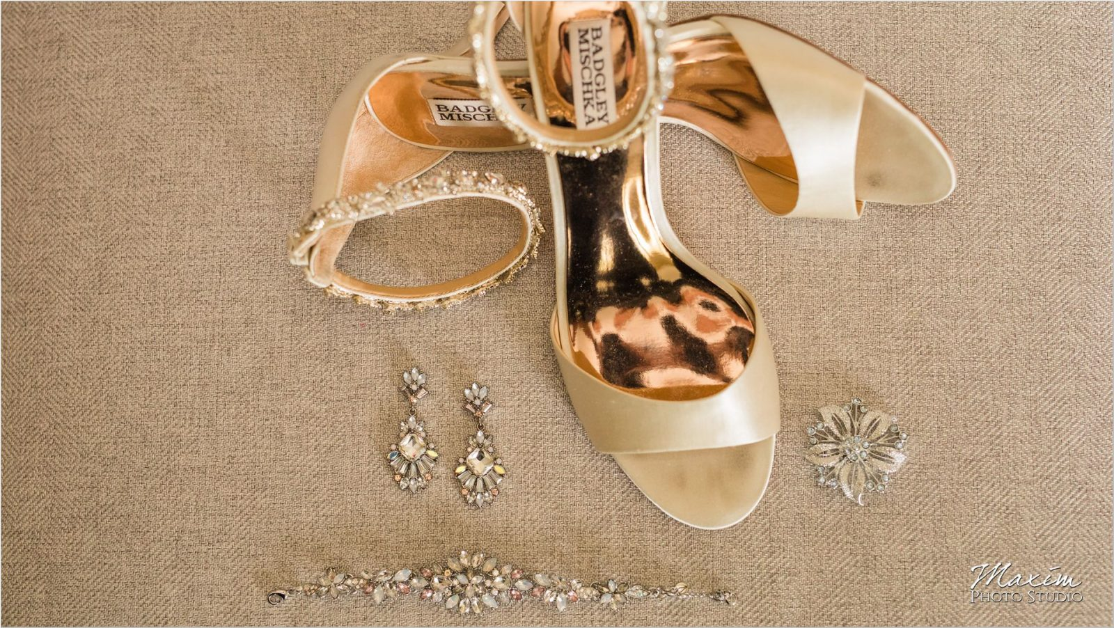 Ivy Hills Country Club Badgley Mischka Wedding shoes