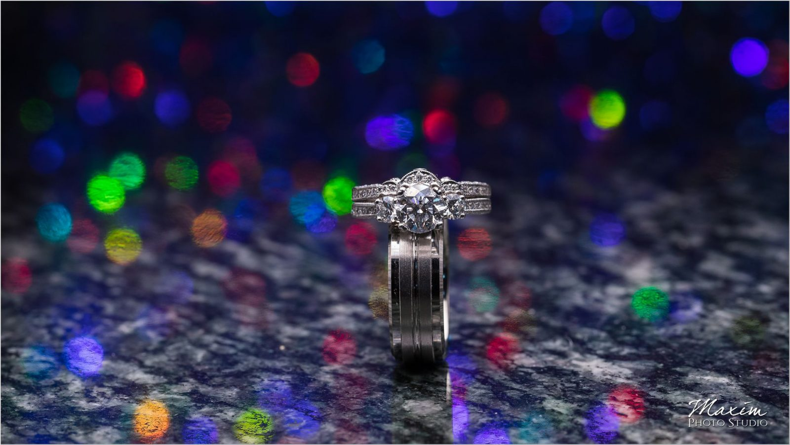 Ivy Hills Country Club Wedding Rings