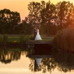 Ivy Hills Country Club Wedding sunset