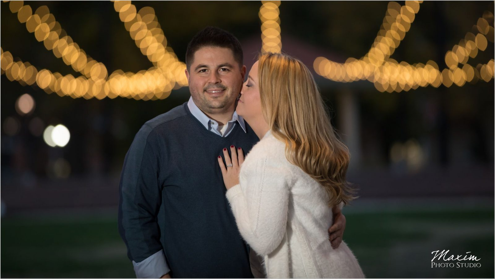 Washington Park Cincinnati engagement