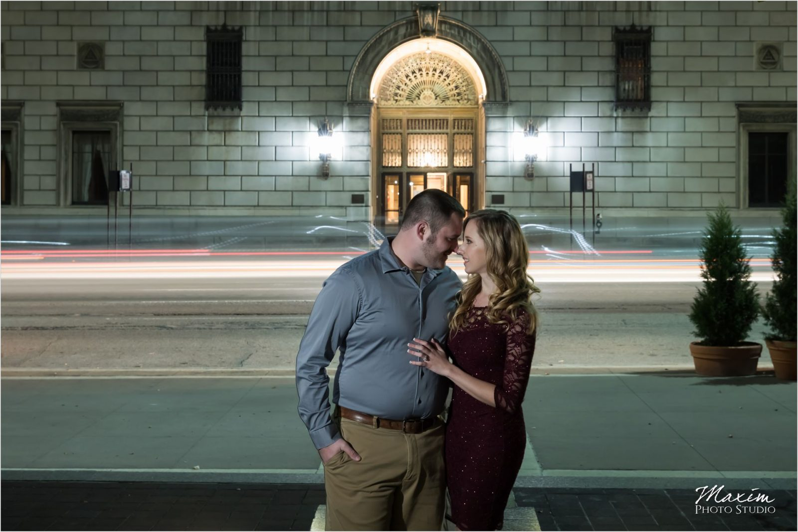 Masonic Temple Cincinnati PG Gardens Engagement