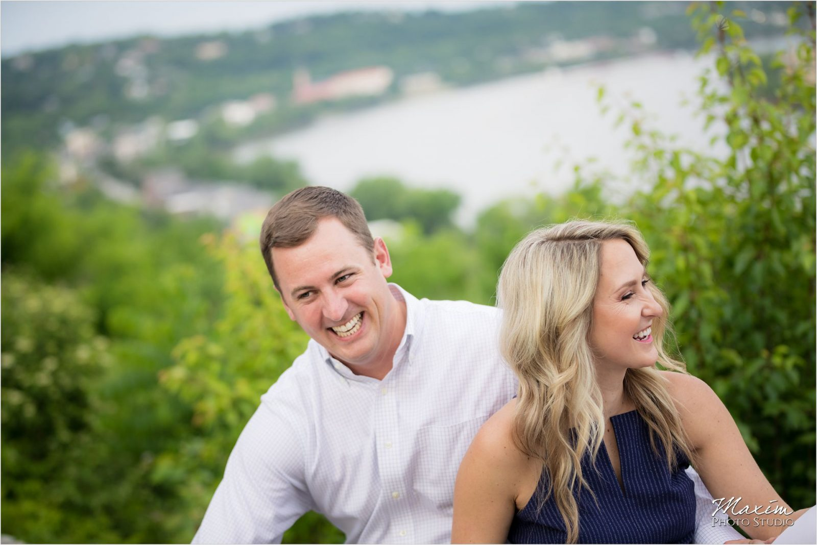 Cincinnati Eden Park Engagement Photography