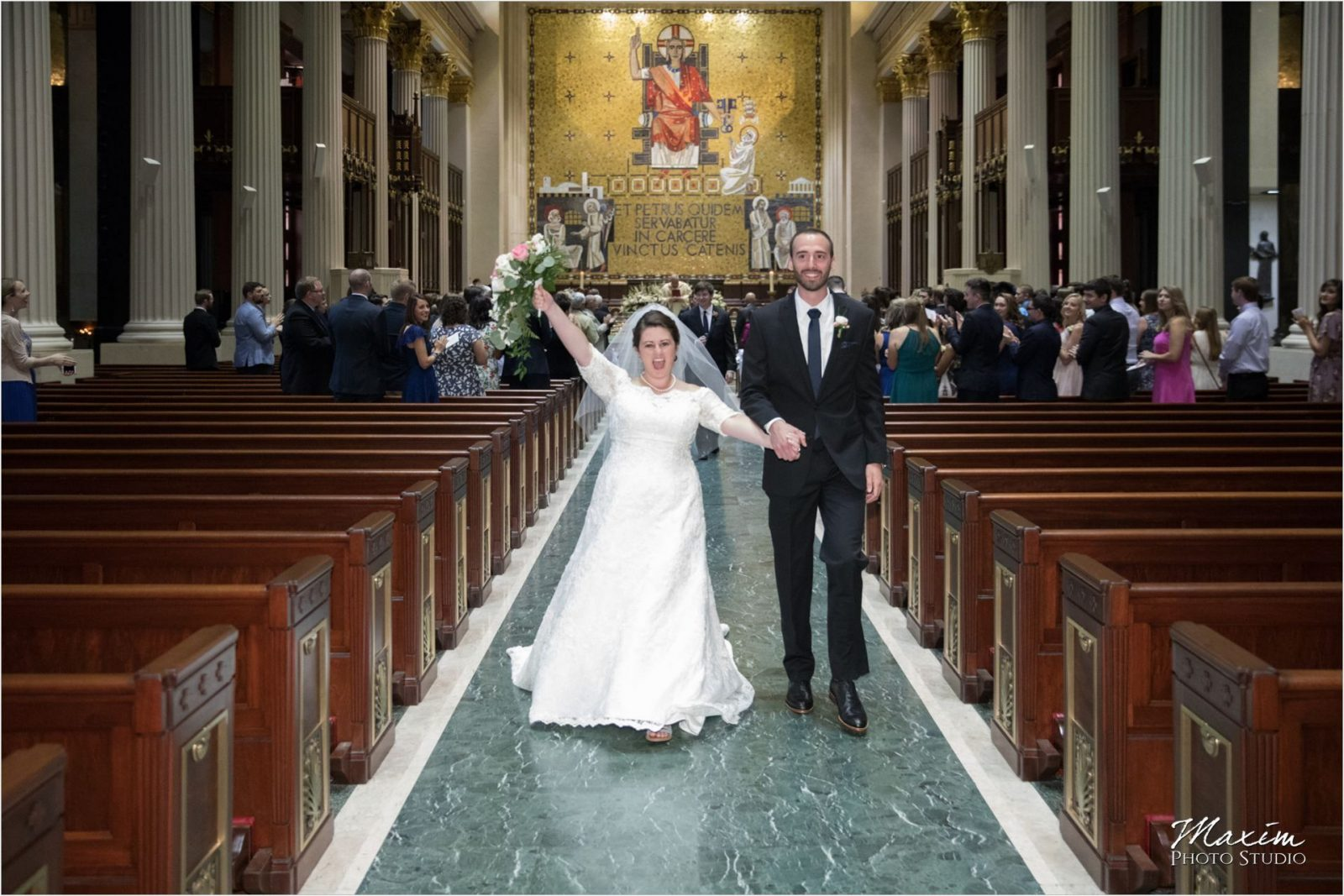 St. Peter in Chains Cincinnati Wedding Ceremony