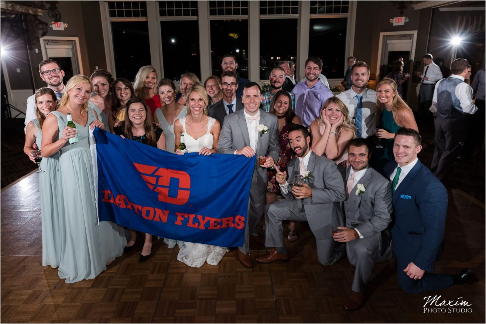 University of Dayton Drees Pavilion Wedding Reception