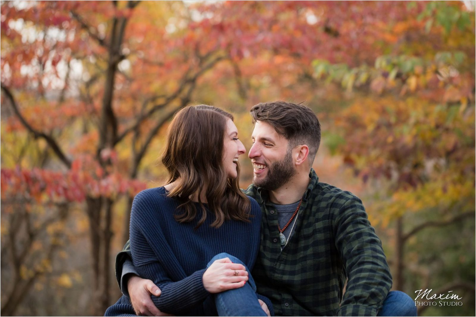 Mt. Airy Forest Cincinnati Engagement