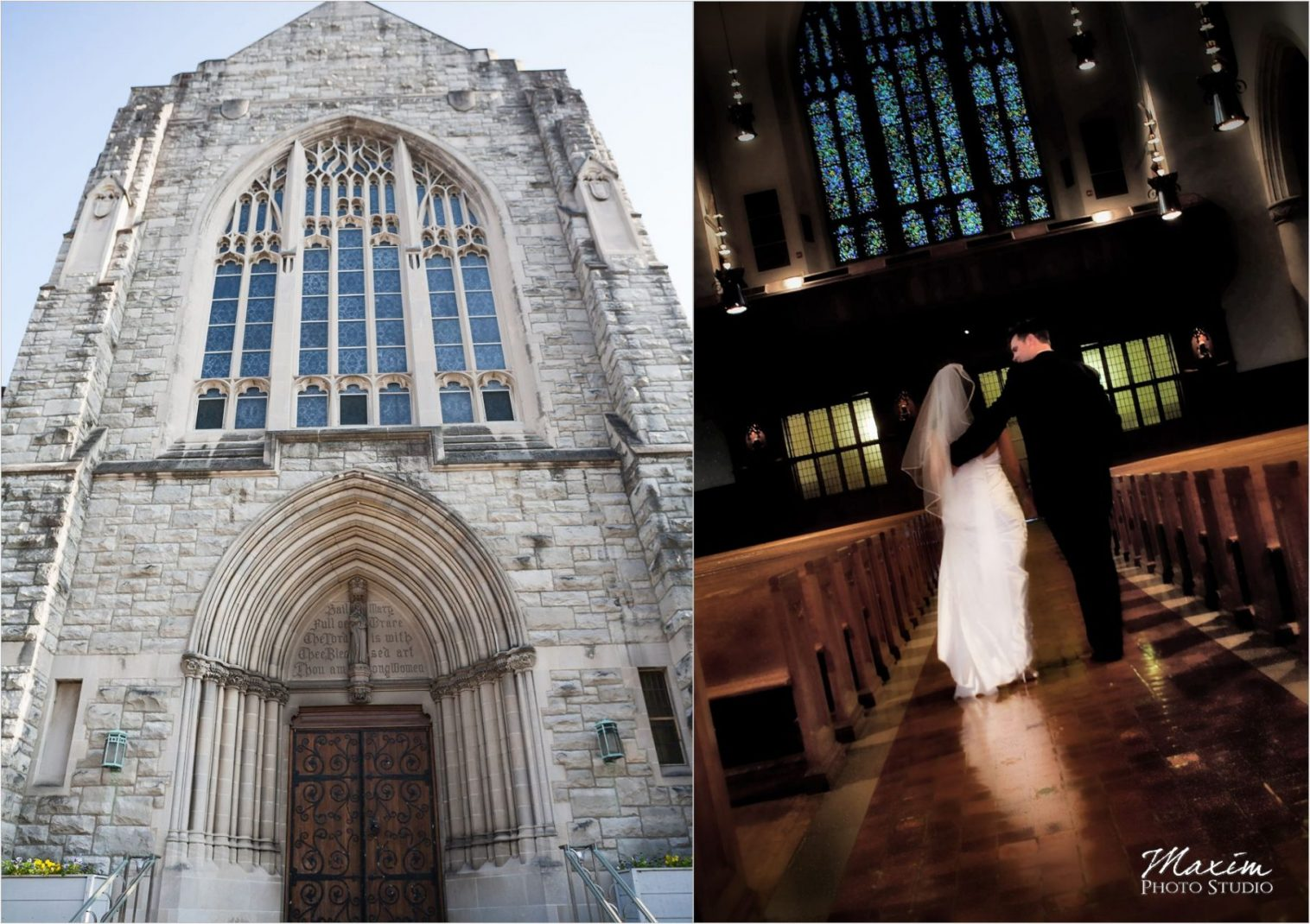 St. Mary's Hyde Park Cincinnati Wedding Photography