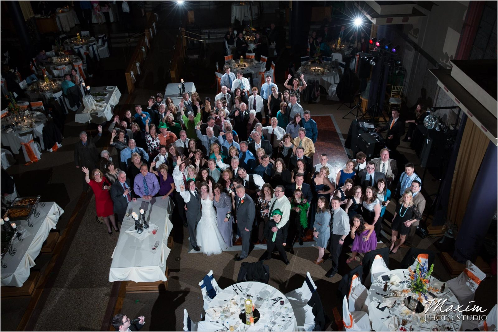 Bell Event Centre Wedding Group Photo Party Pleasers DJs