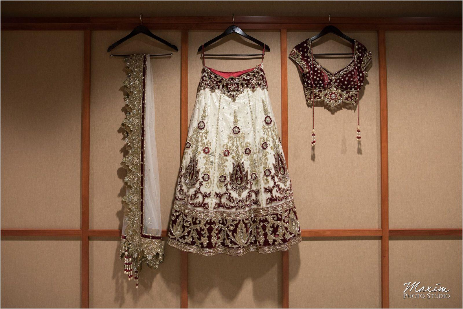 Savannah Center Indian Wedding Bridal Lehenga Choli with Dupatta