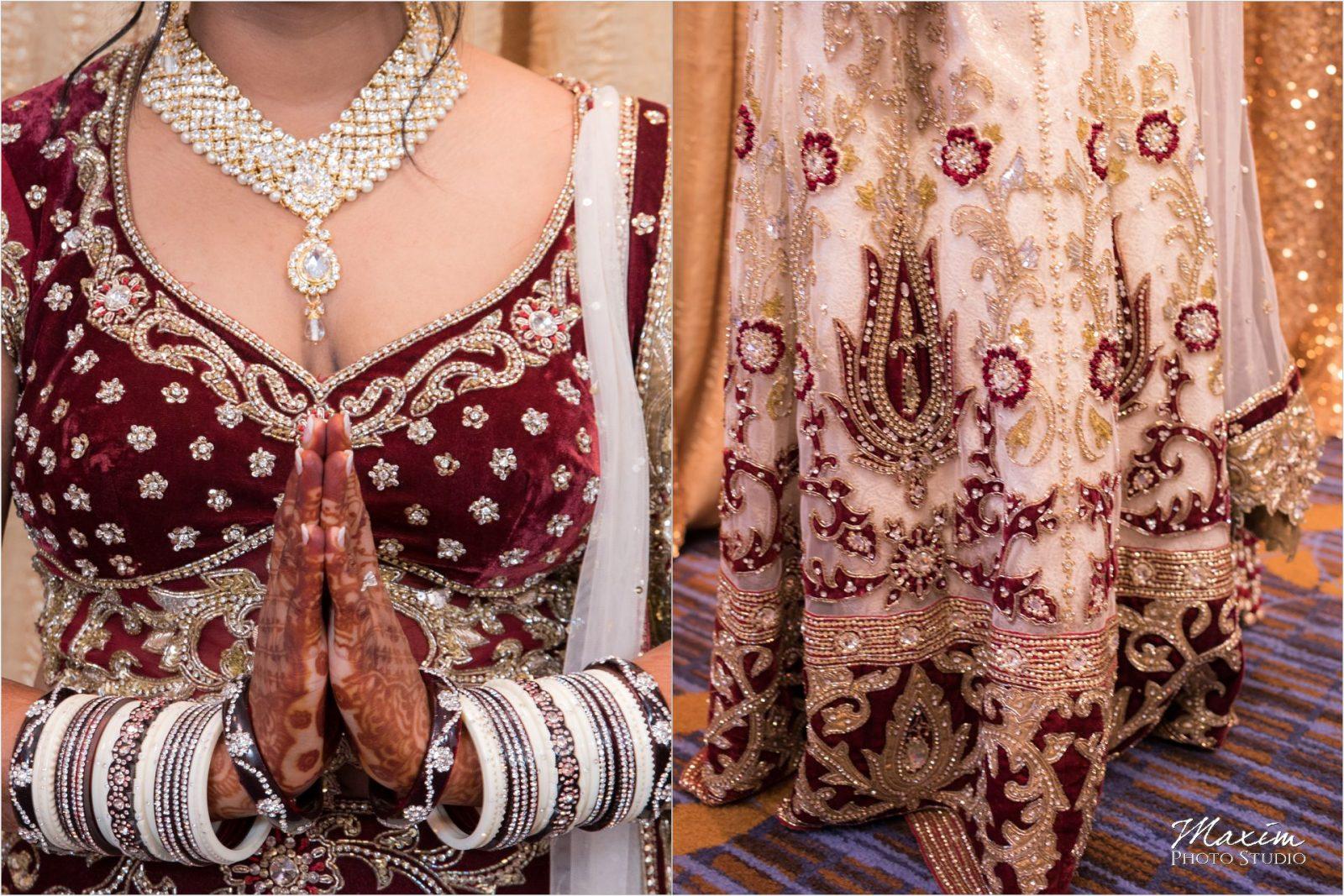 Savannah Center Indian Wedding Bride Preparations