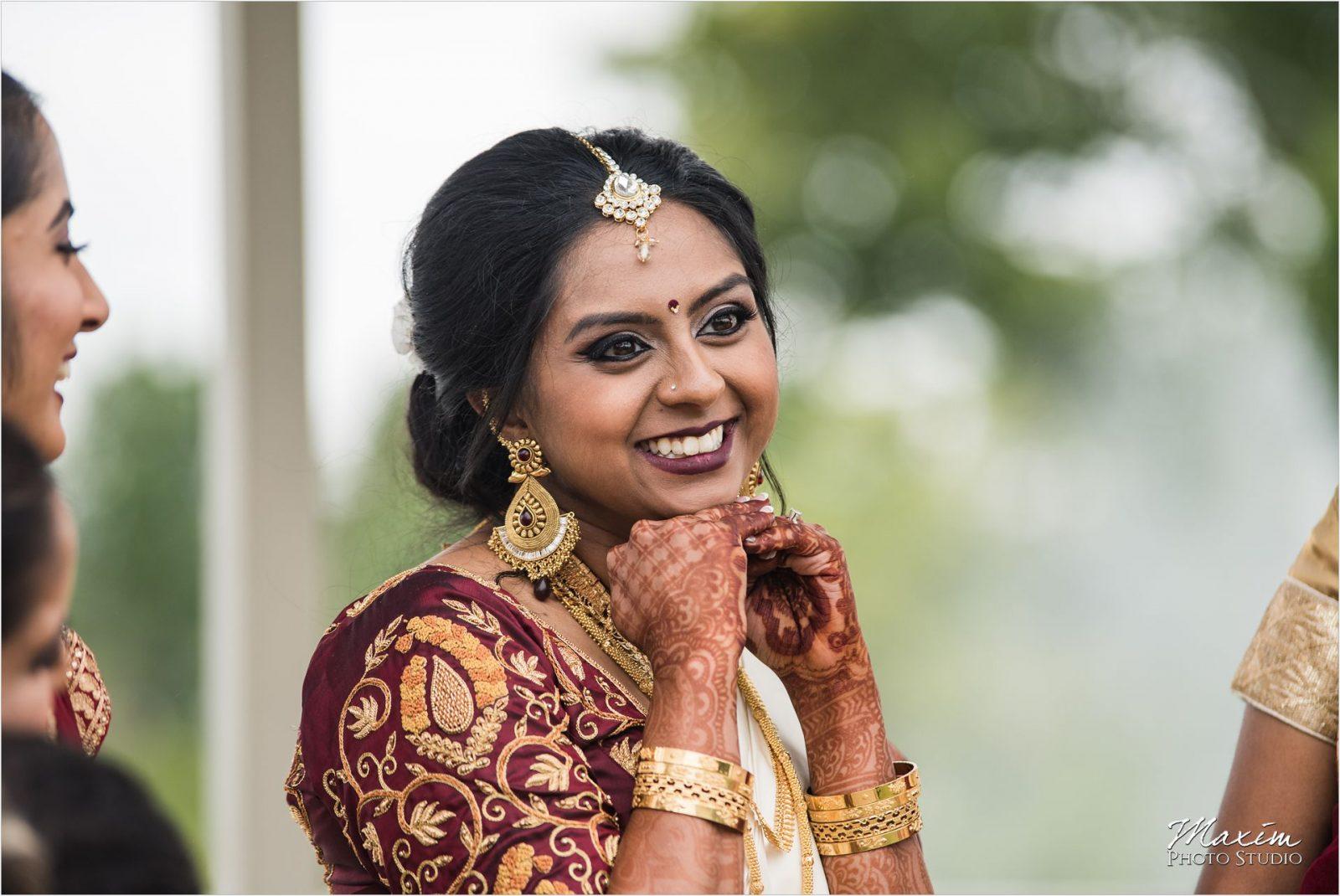 Savannah Center Cincinnati Indian Wedding Photography Bride