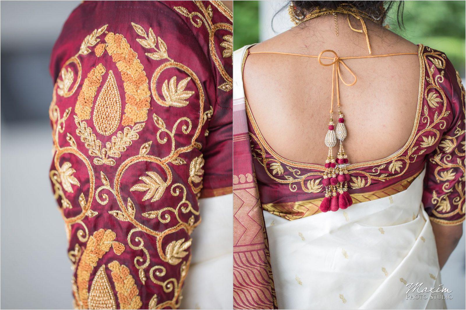Savannah Center Cincinnati Indian Wedding Bride