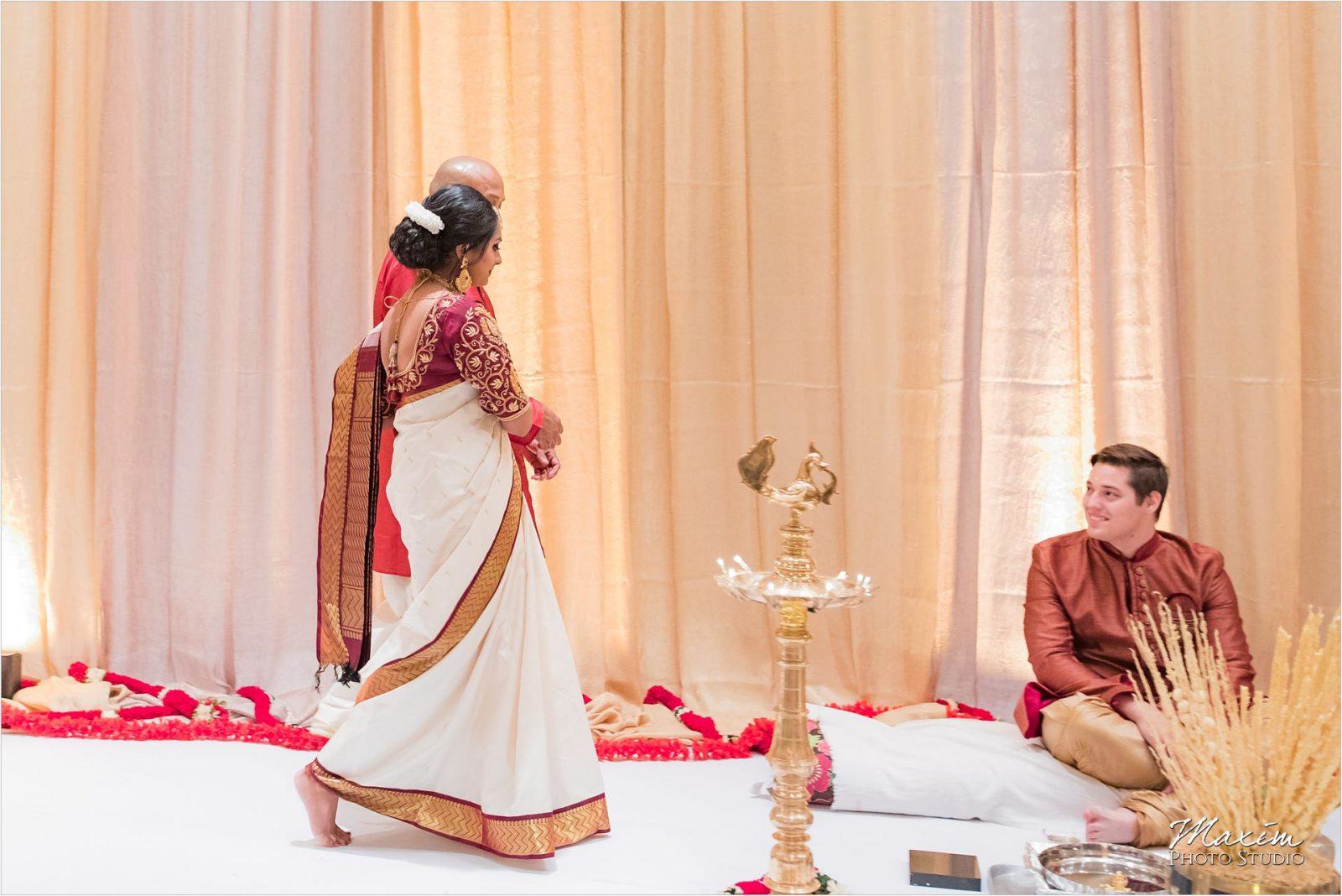Savannah Center Cincinnati Indian Wedding Ceremony