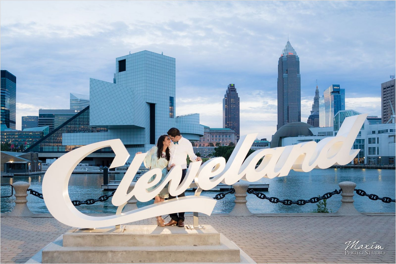 Downtown Cleveland Indian Engagement