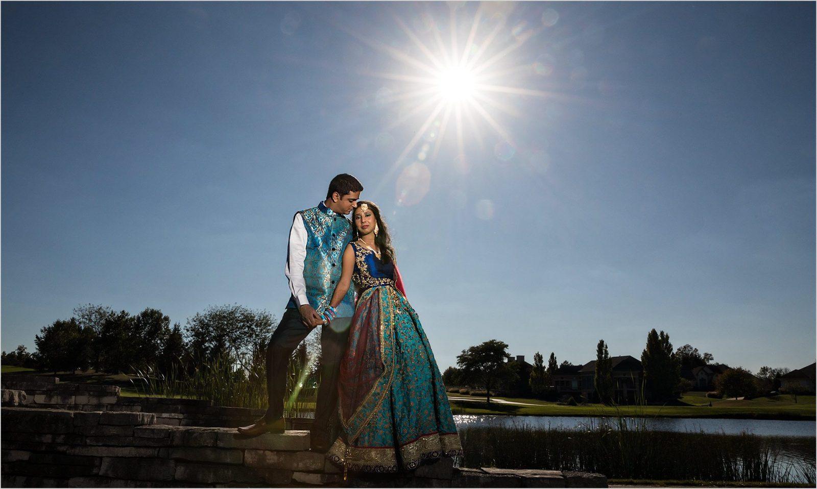 Dayton Wedding Photographers Indian Wedding Sunburst Country Club North