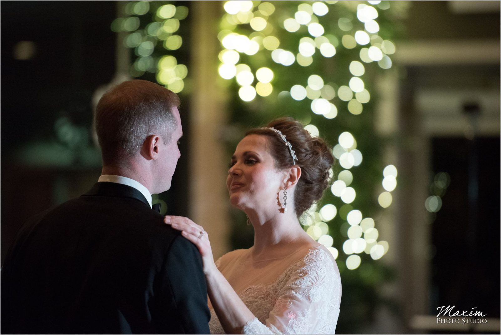 Drees Pavilion Cincinnati Wedding Reception first dance