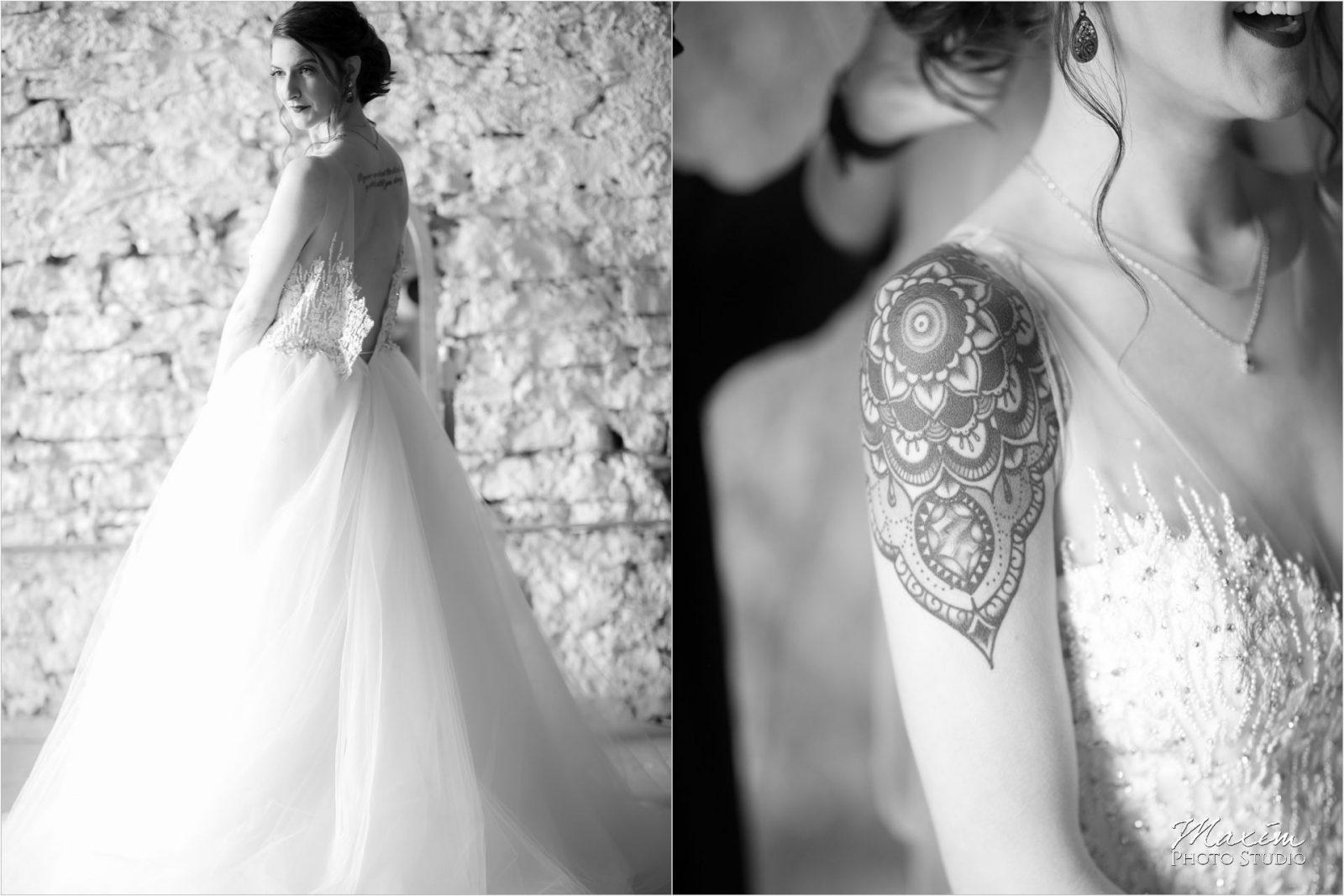 The Mockbee Cincinnati Wedding Bride Preparations