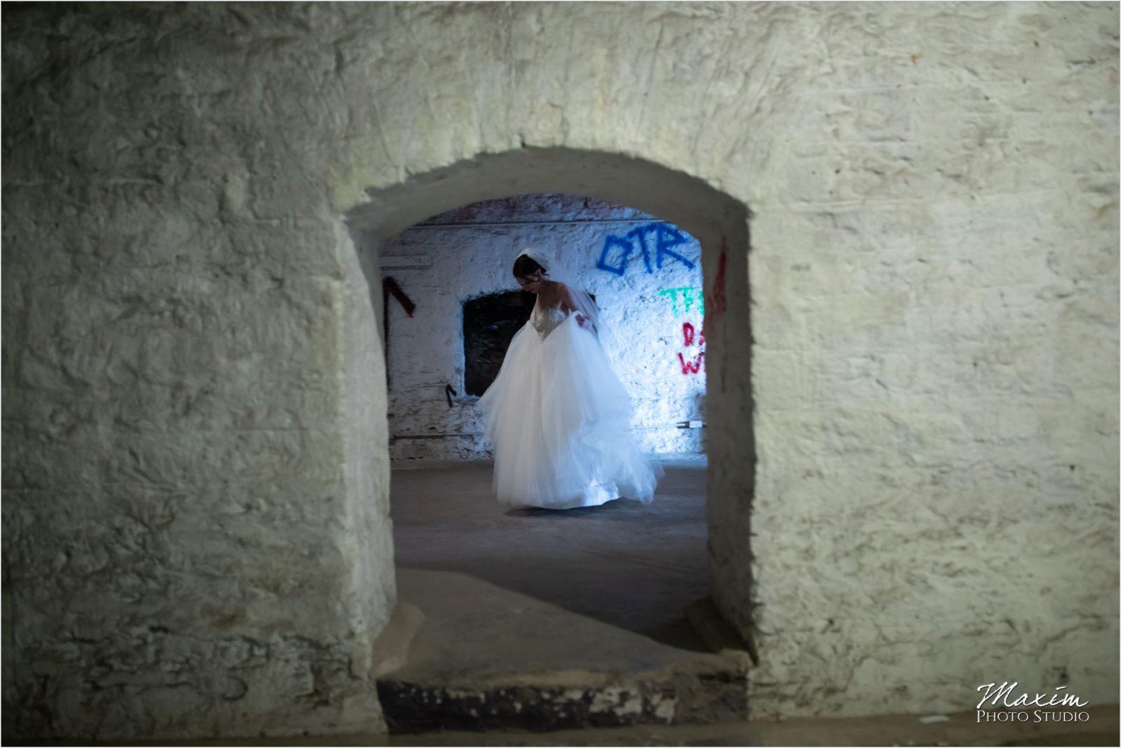 The Mockbee Cincinnati Wedding Ceremony bride