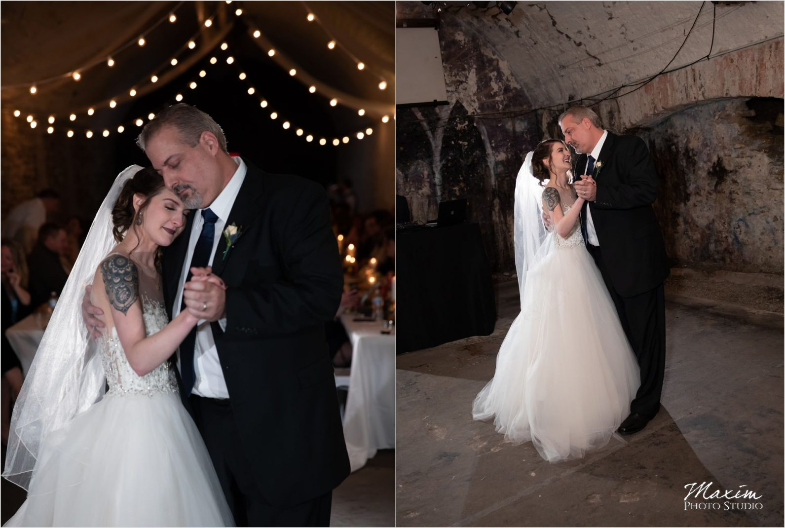 The Mockbee Cincinnati Wedding Reception Father Daughter Dance