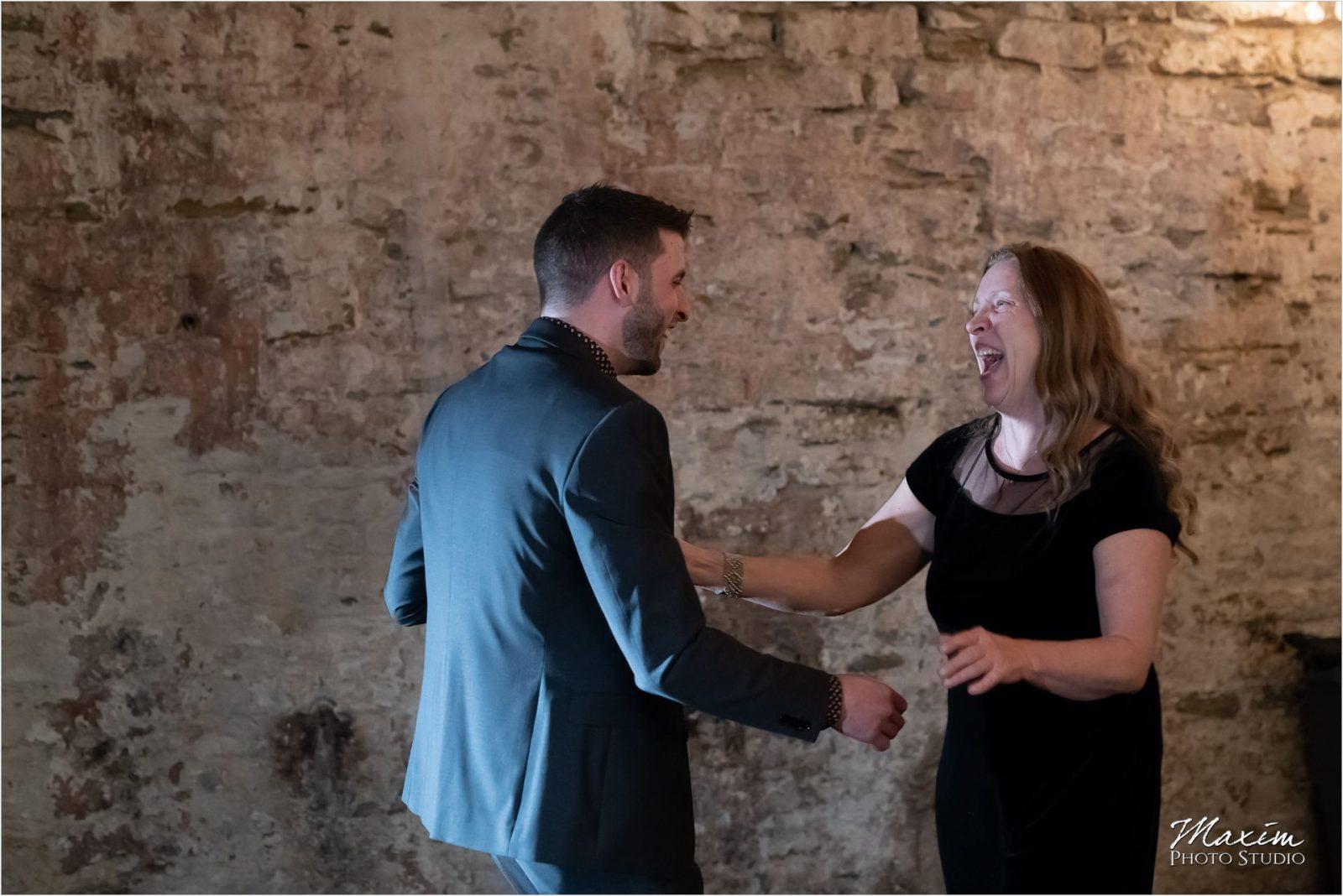 The Mockbee Cincinnati Wedding Reception Mother Son Dance