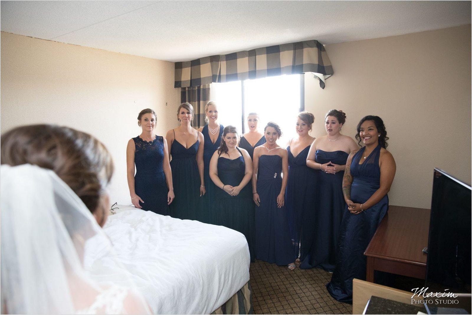 Pattison Park Lodge Wedding bridesmaids reveal