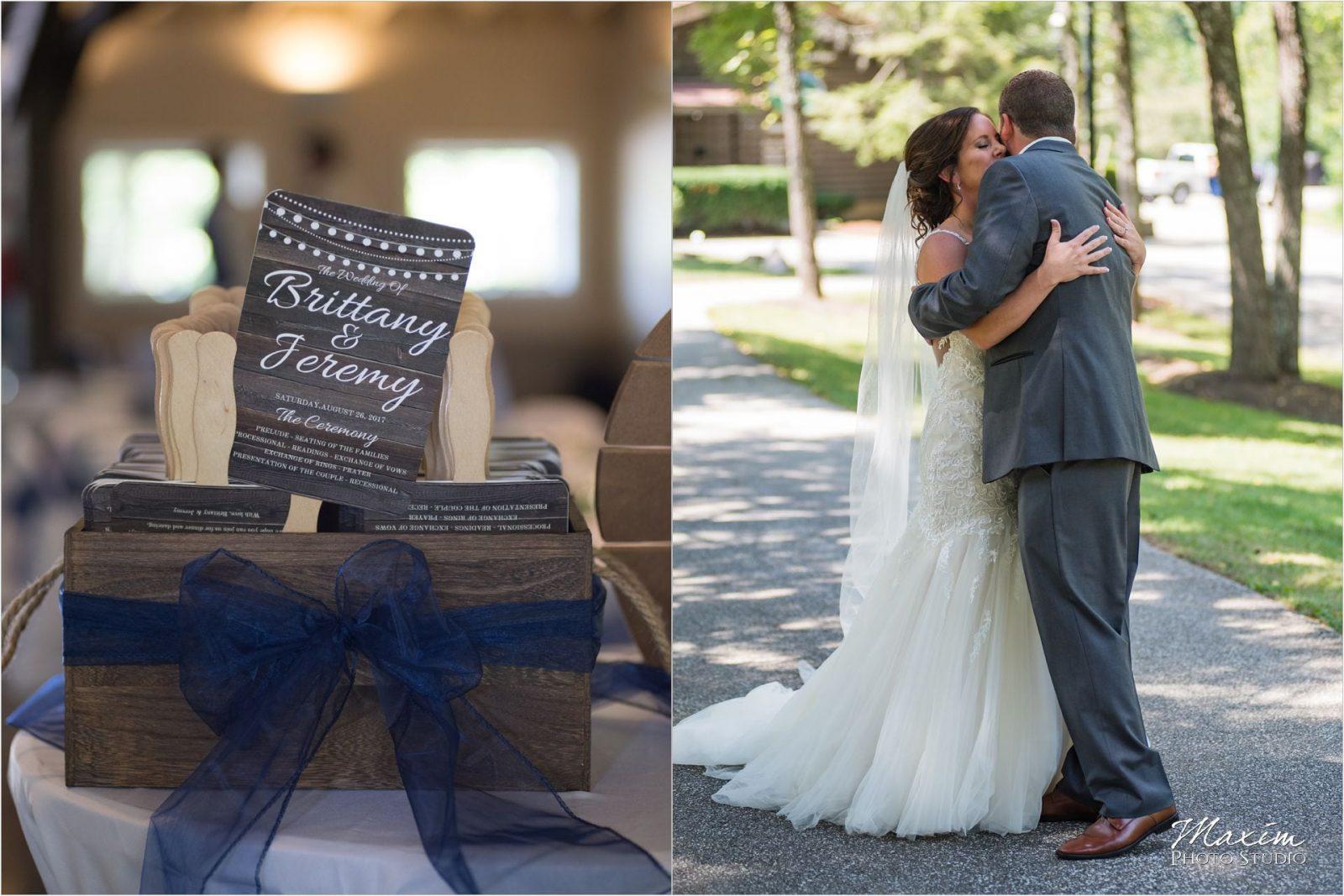 Pattison Park Lodge Wedding bride groom