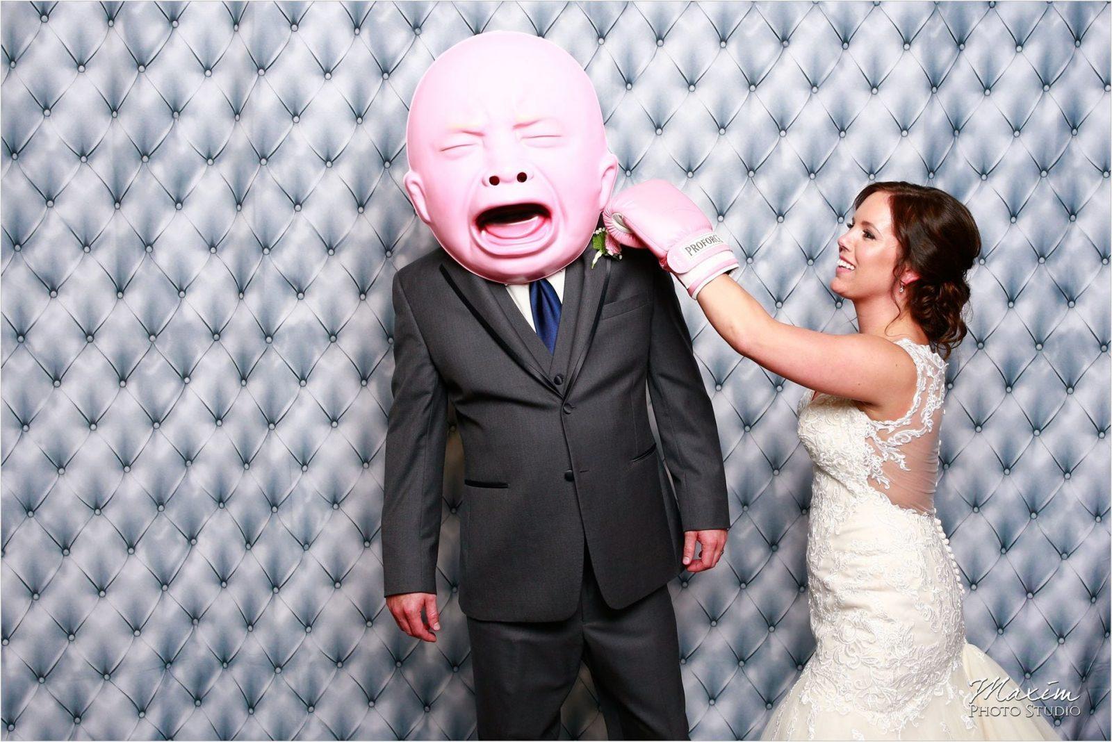 Pattison Park Wedding Reception Photo Booth