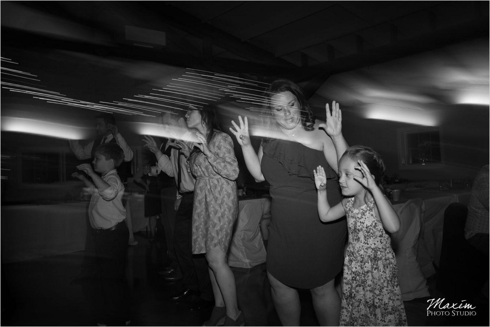 Pattison Park Wedding Reception dancing