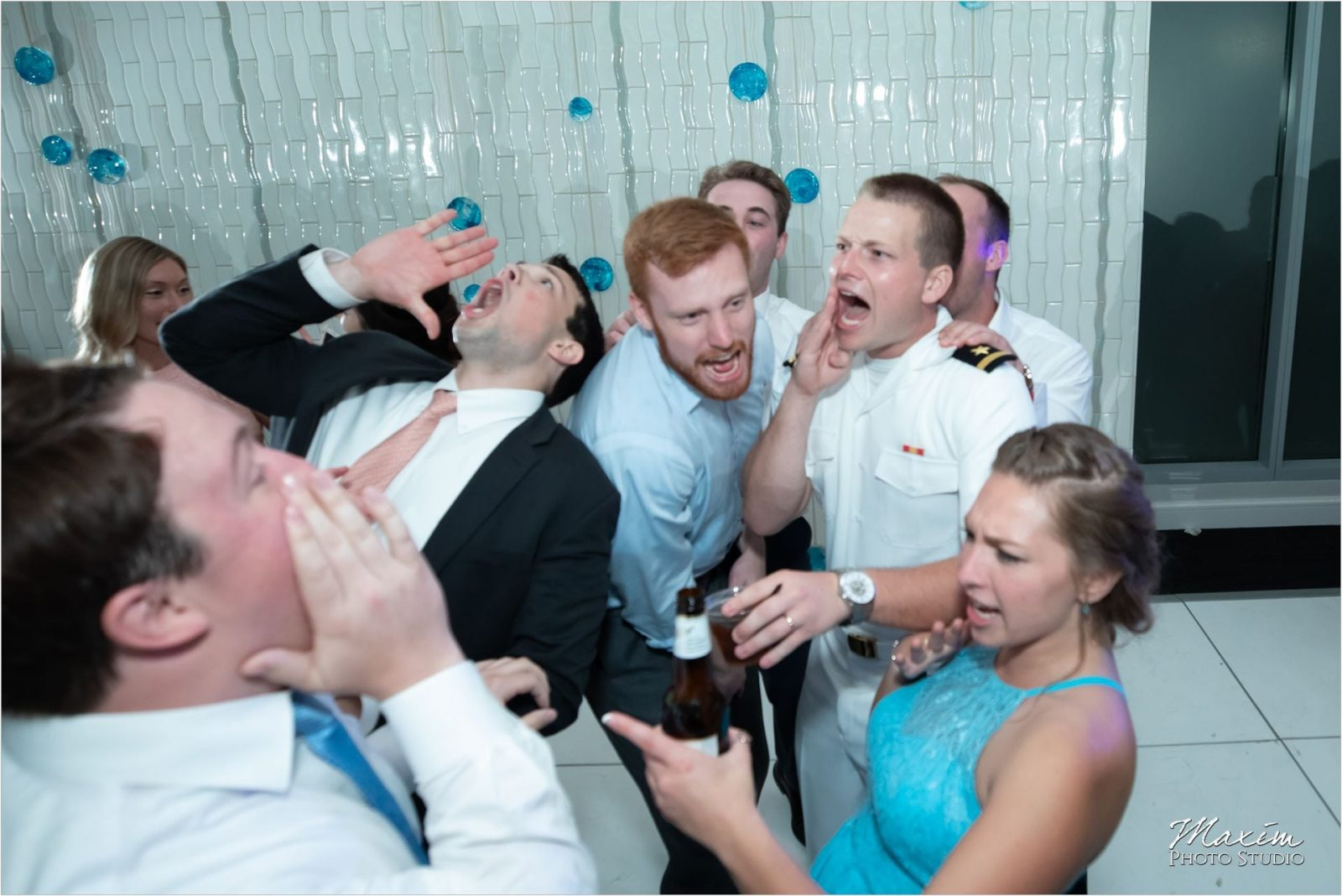 Anderson Pavilion Cincinnati Wedding Photographer Reception Dance