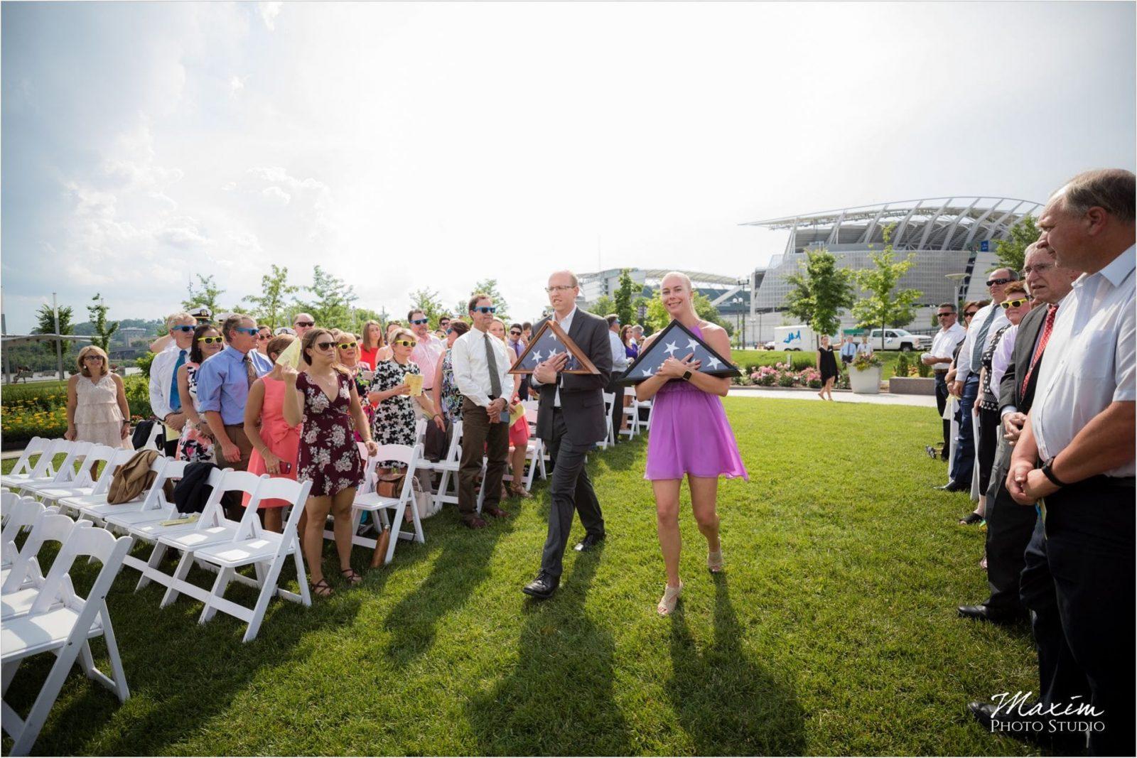 Anderson Pavilion Cincinnati Wedding Photographer Ceremony