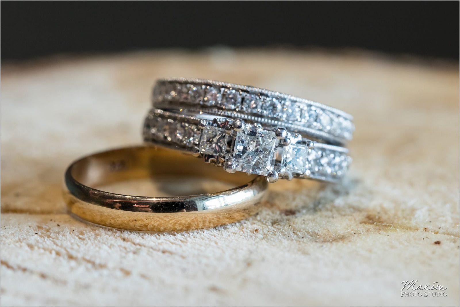 Anderson Pavilion Cincinnati Wedding Photographer rings