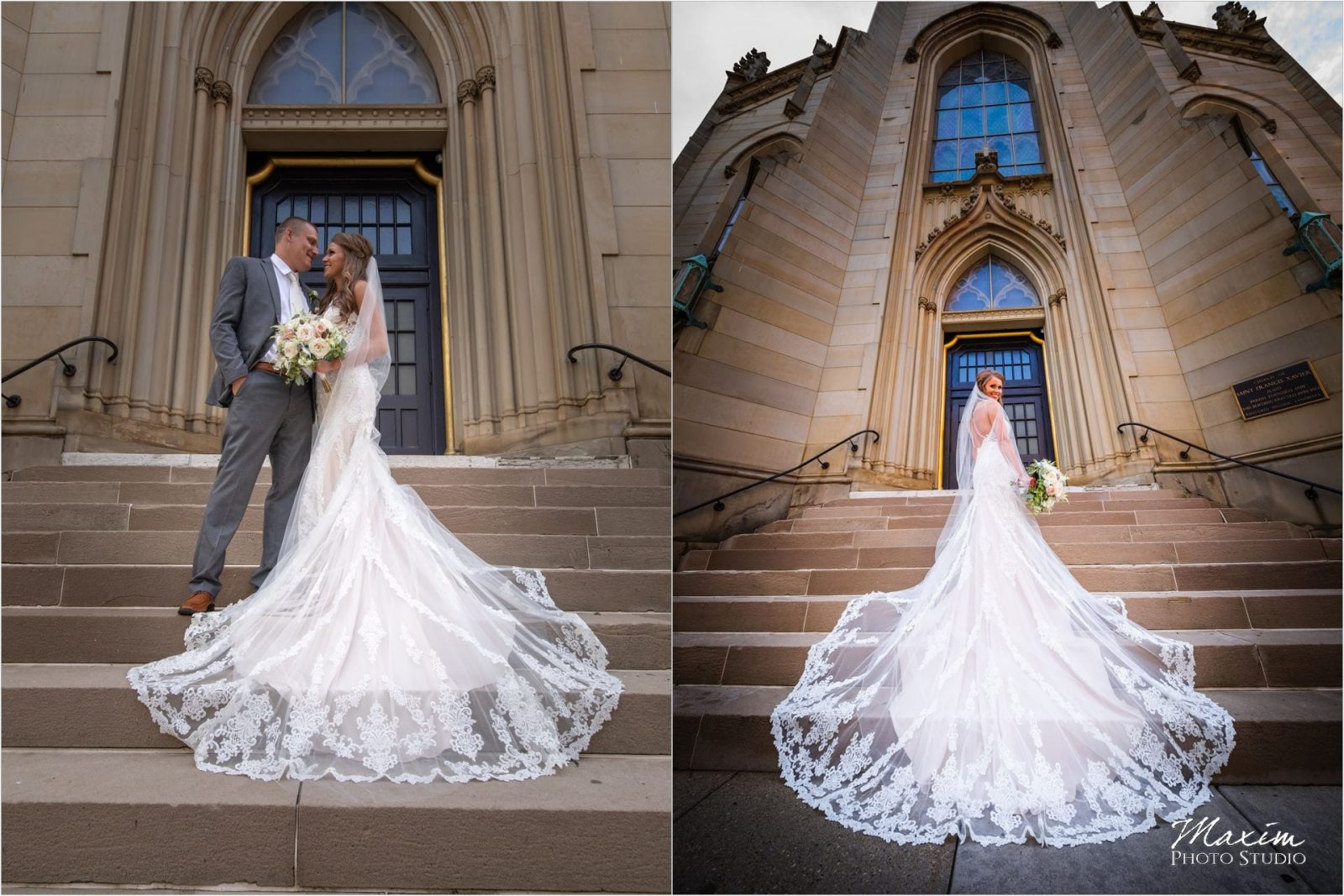 St. Xavier Church Cincinnati Wedding Ceremony