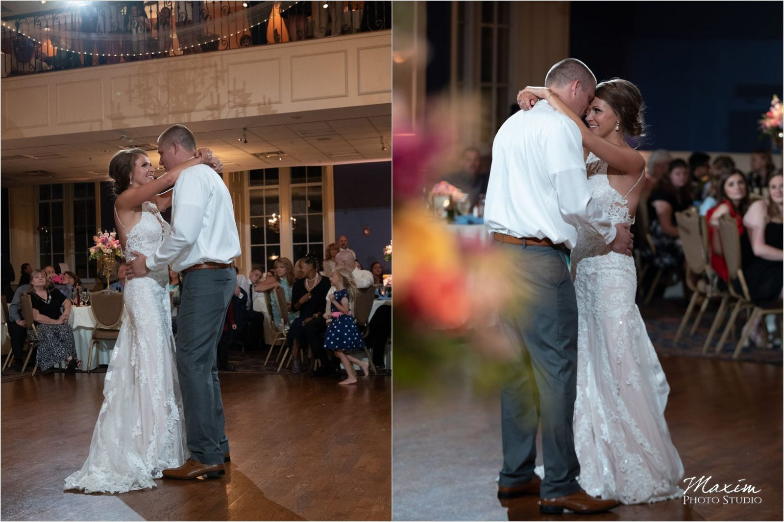 The Grand Covington Kentucky Wedding Reception Dance