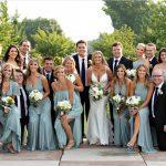 20th Century Theater Bridal Party Teal dresses Cincinnati Ohio