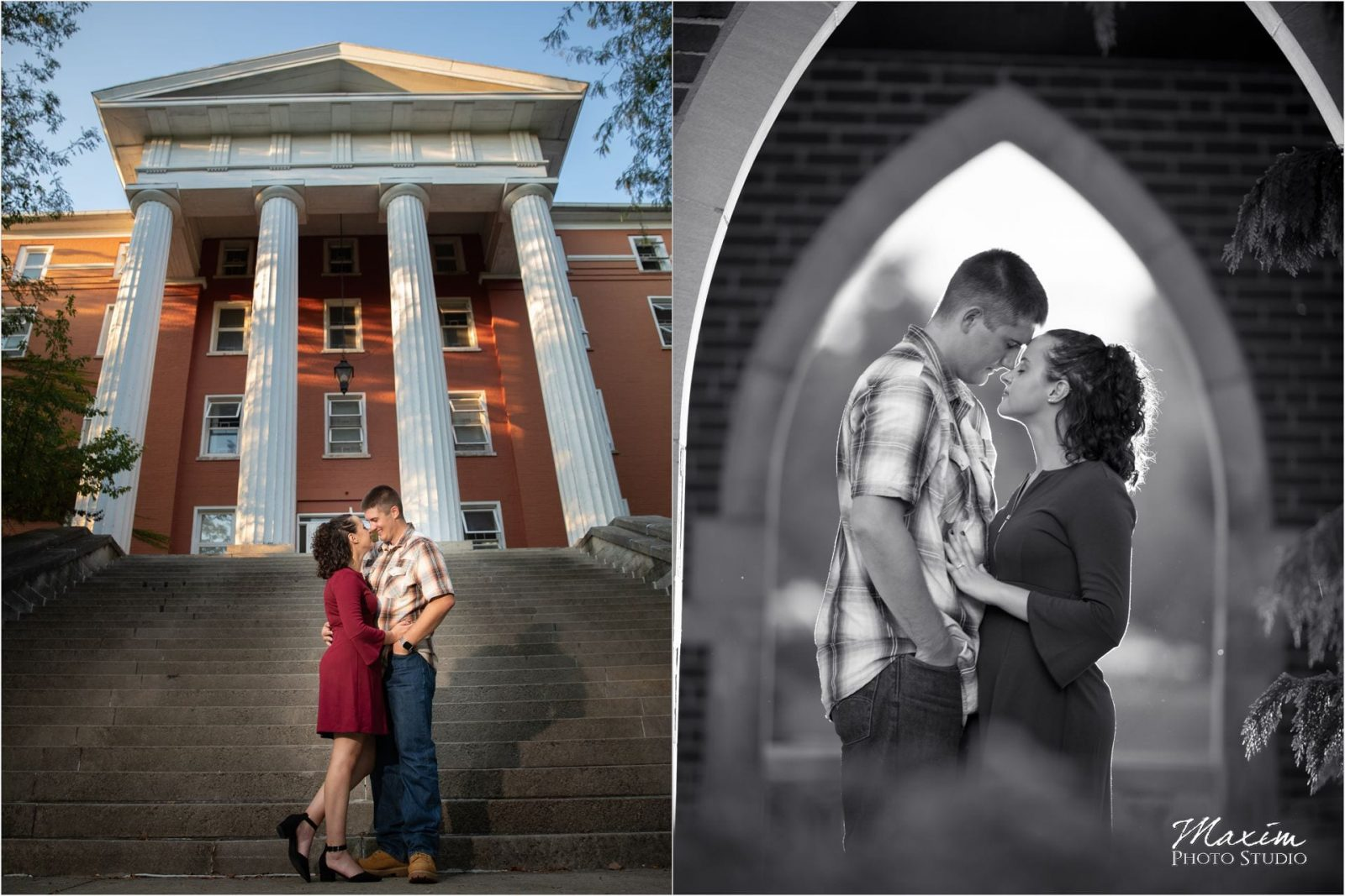 Wittenberg University Engagement - Maxim Photo Studio