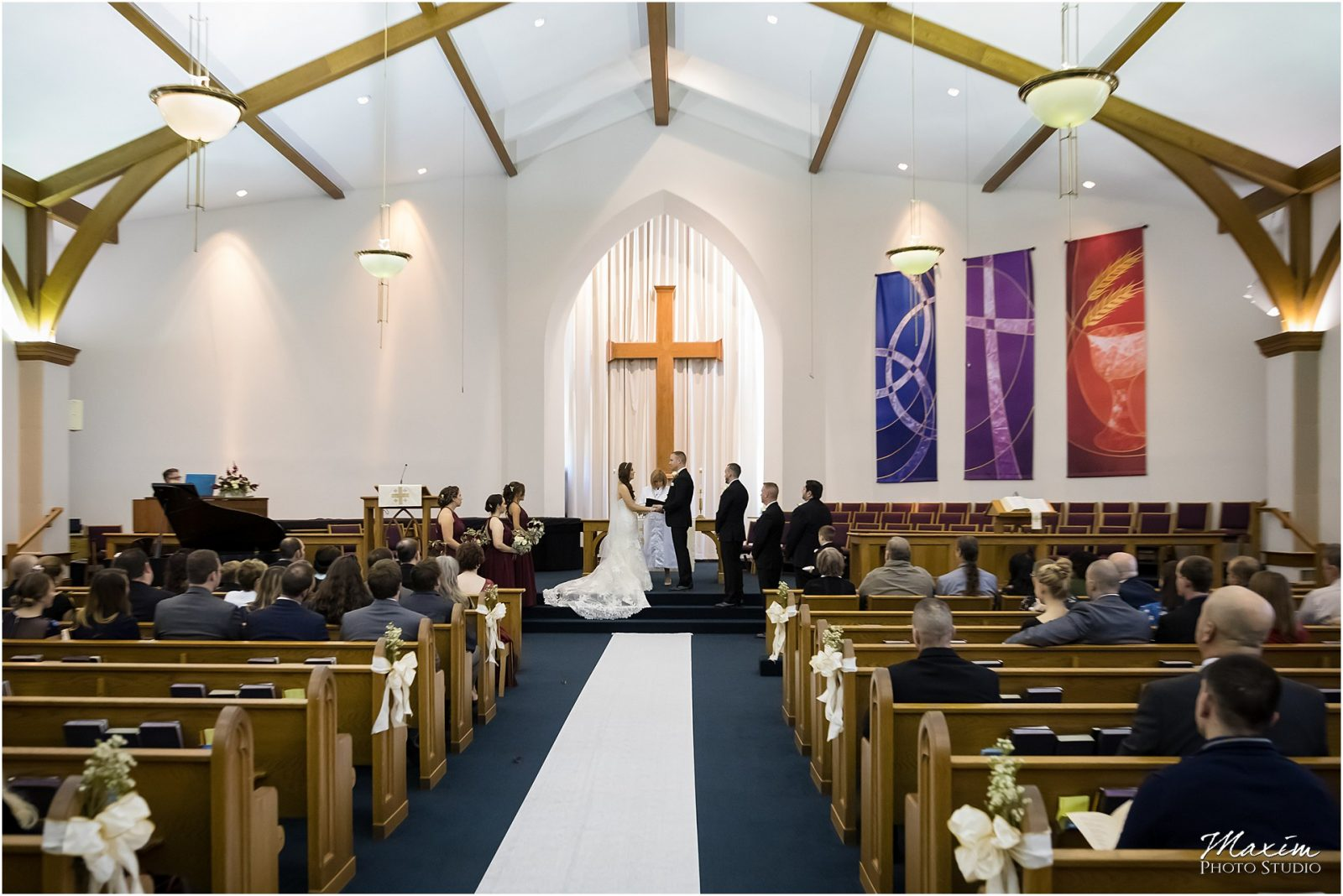 Faith Community UMC, West Chester Ohio Wedding, Wedding Ceremony