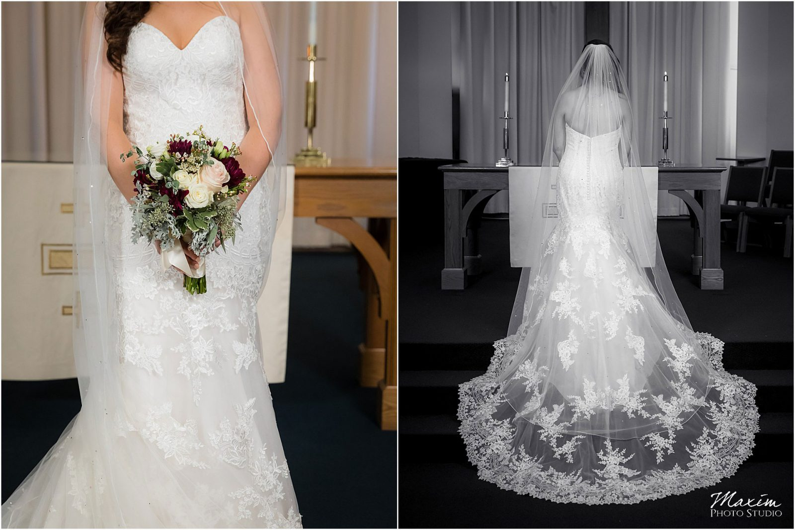 Faith Community UMC, West Chester Ohio Wedding, Bride Eddy K wedding dress