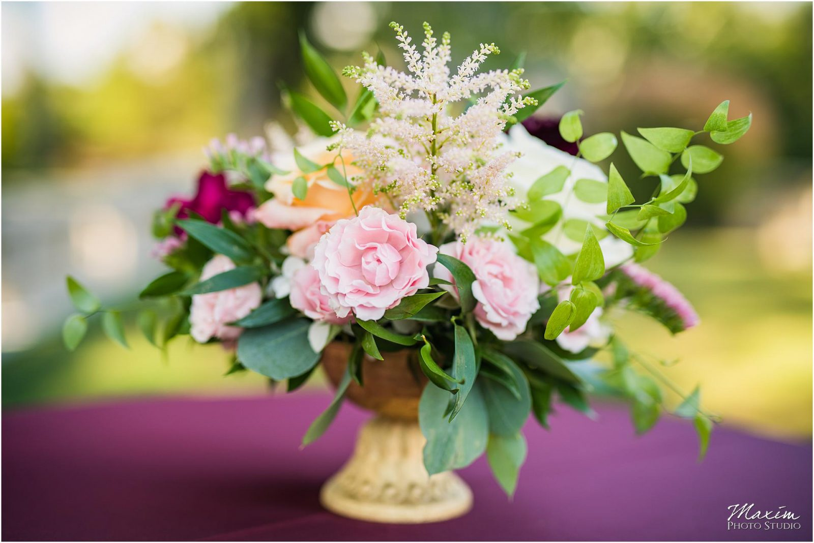 Greenacres Art Center, Cincinnati Wedding, Wedding Ceremony, Floral Verde Flowers