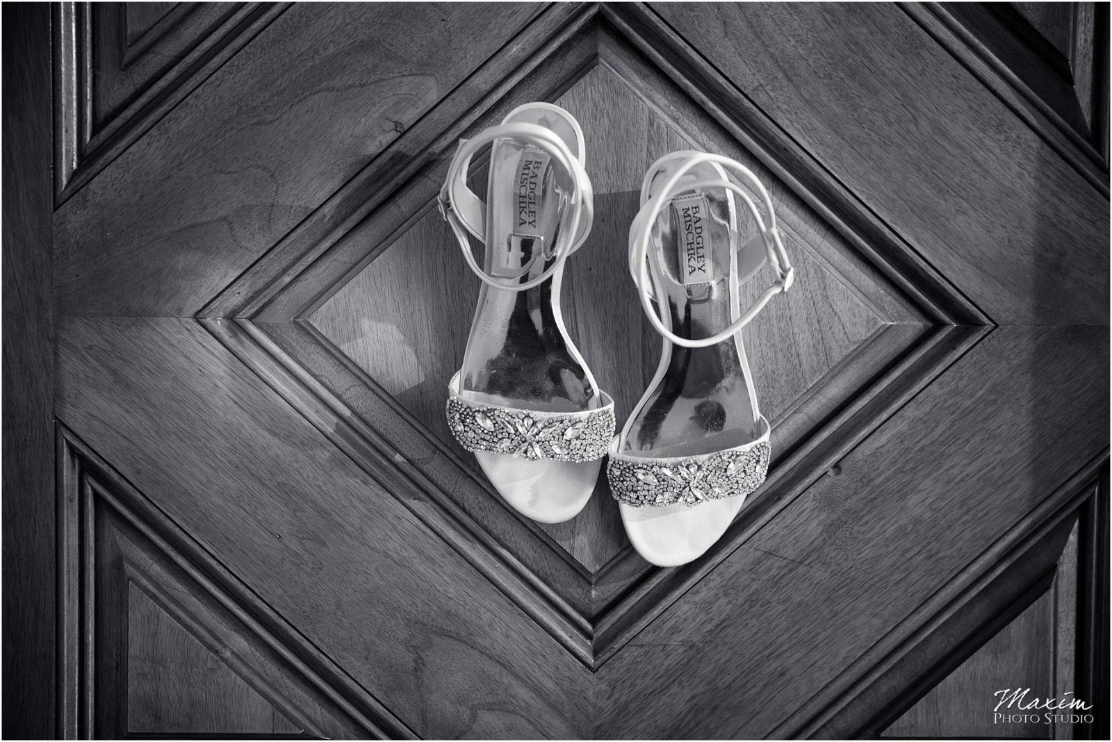 Greenacres Art Center, Cincinnati Wedding Shoes, Badgley Mischka wedding shoes
