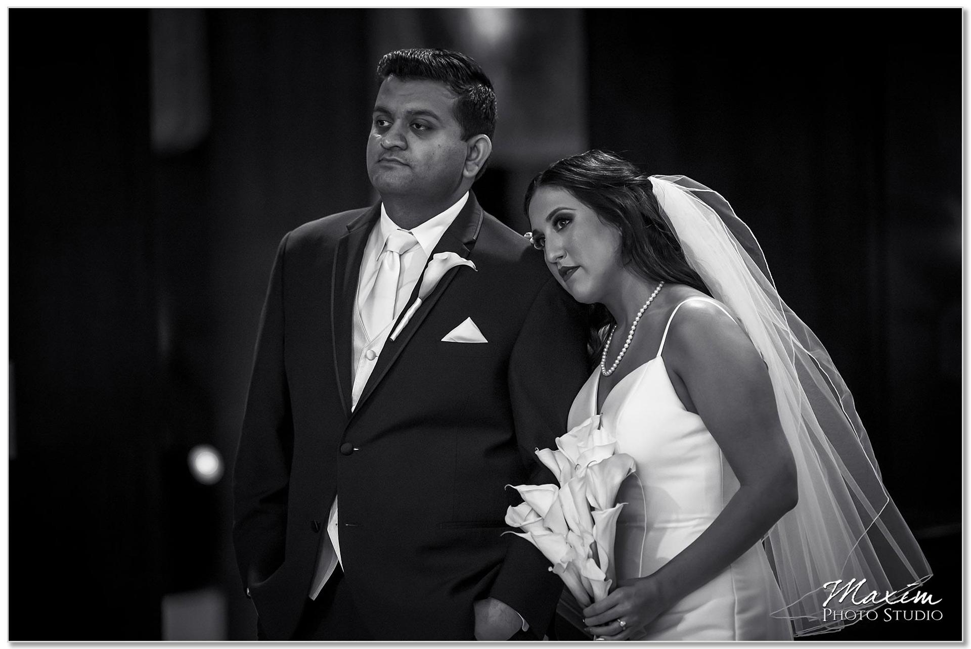 Hilton Netherland Plaza Cincinnati Wedding bride groom