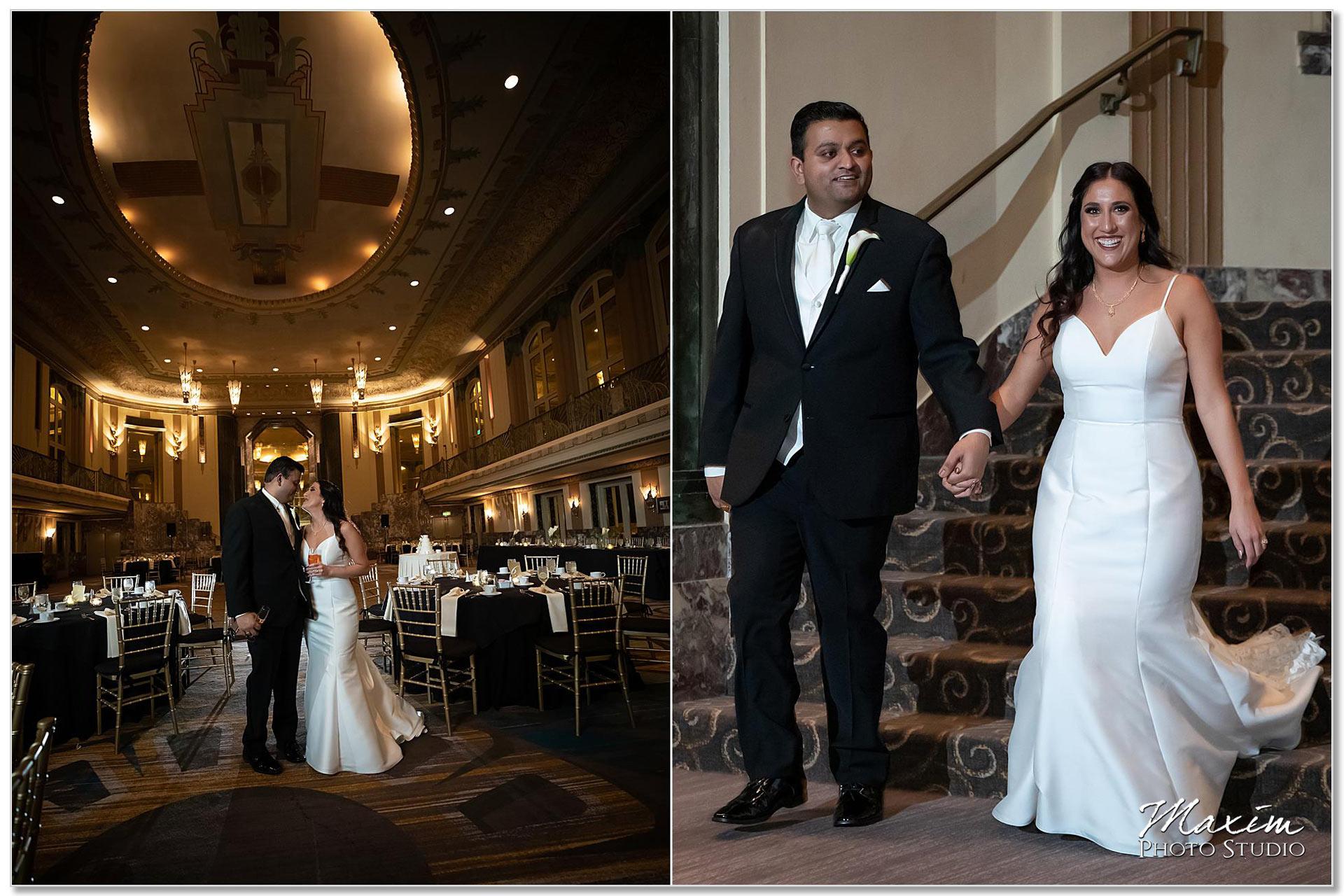 Hilton Netherland Plaza wedding Reception