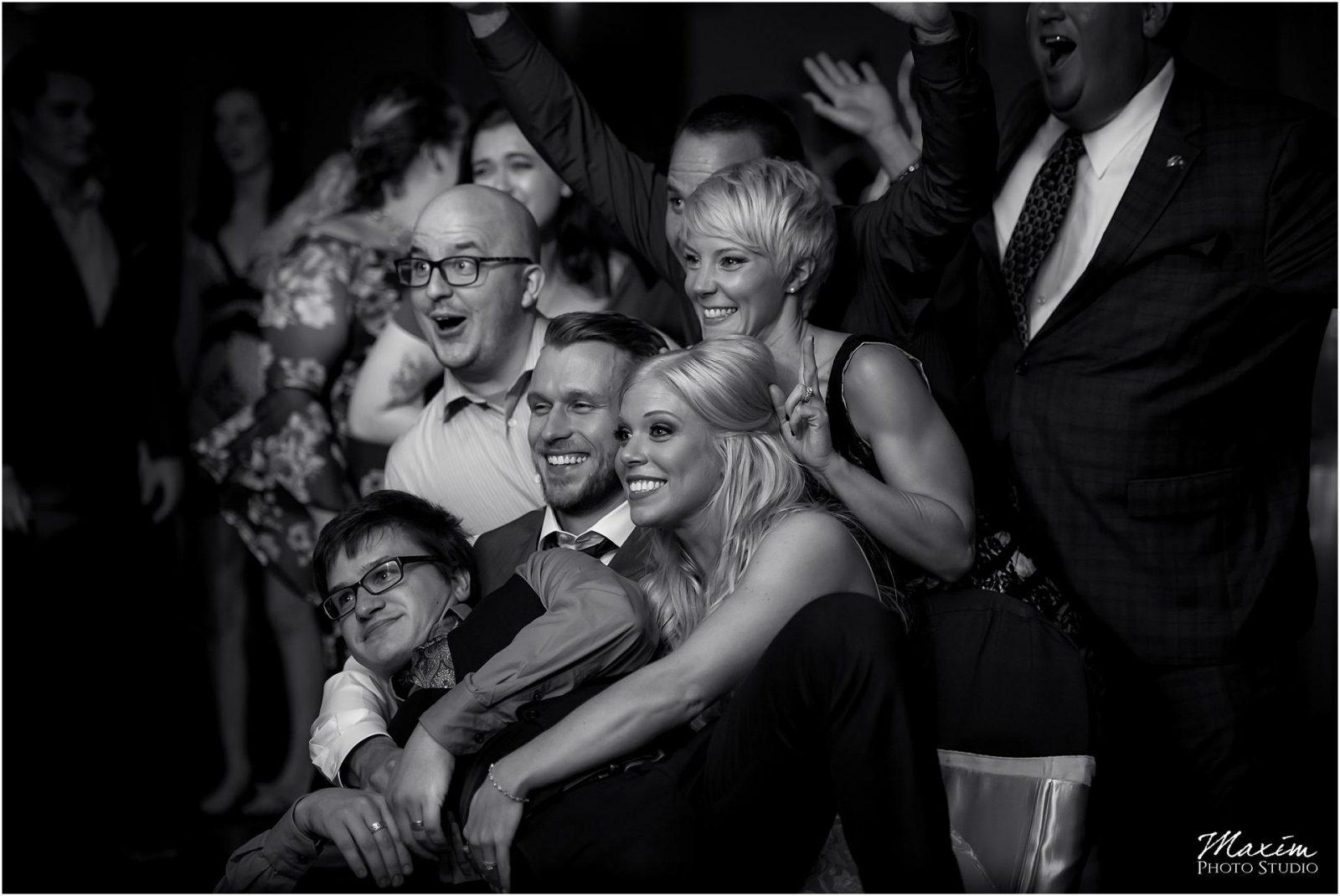 Holiday Inn Airport Wedding, Kentucky Wedding Photographer, Wedding Reception Photo Bomb