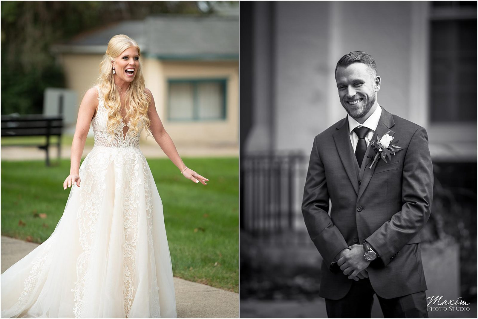 Kentucky Wedding Photographers, Groom Bride First Look pictures