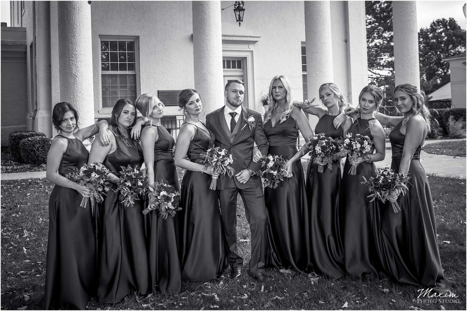 Kentucky Wedding Photographers, Bridal Party Portraits