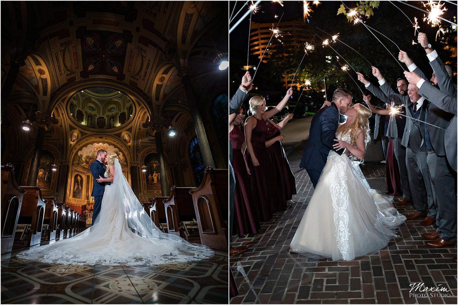 Kentucky Wedding Photographers, Millionaires Row Kentucky Wedding, Bride Groom wedding Portraits