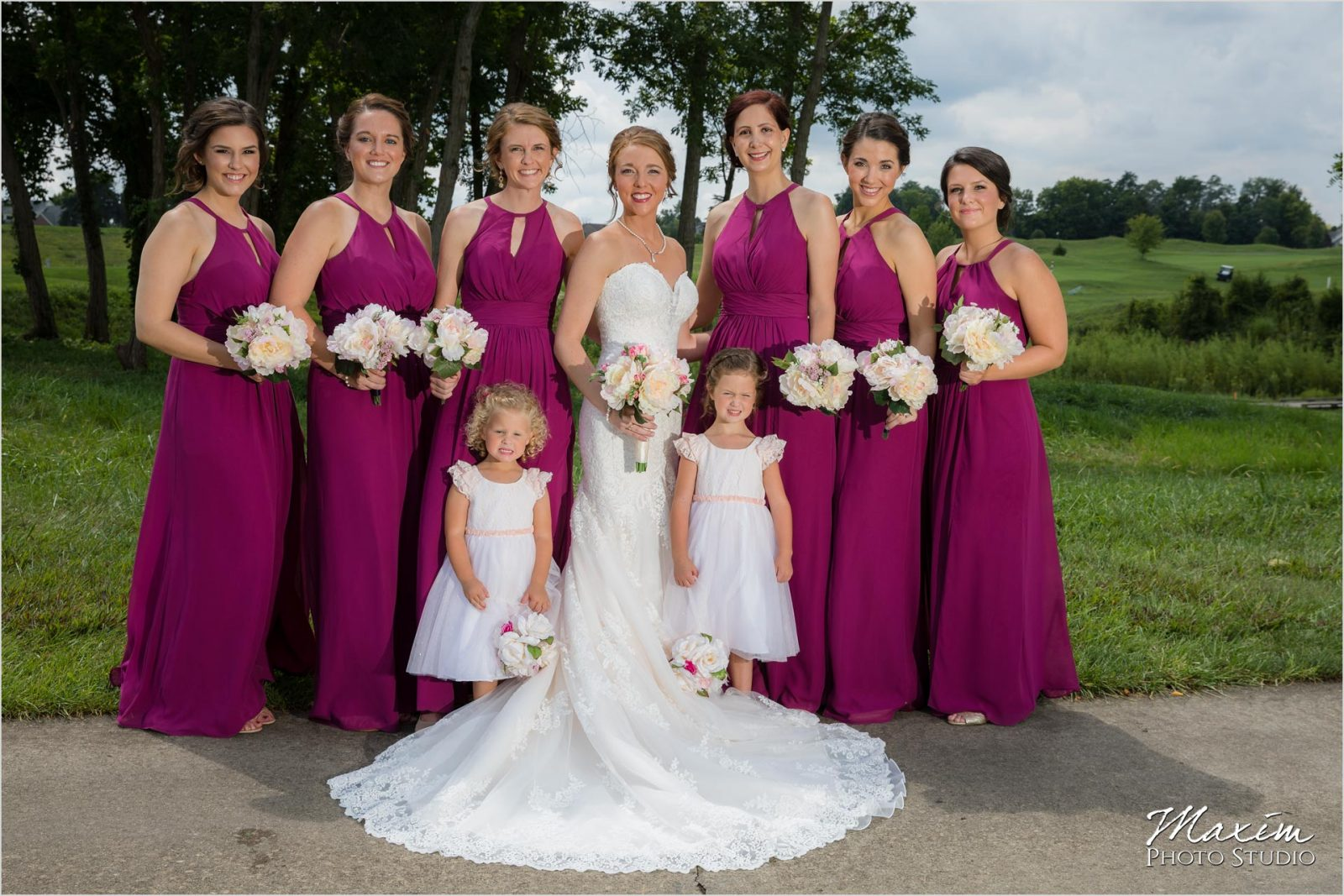 Oasis Conference Center, Cincinnati Wedding Photography, Bridesmaids