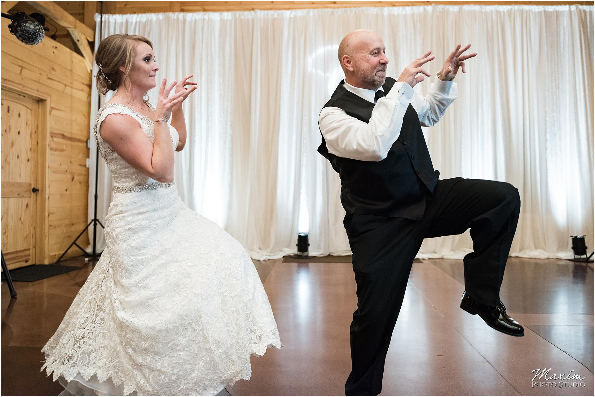 Canopy Creek Dayton Ohio Wedding Reception Thriller Dance