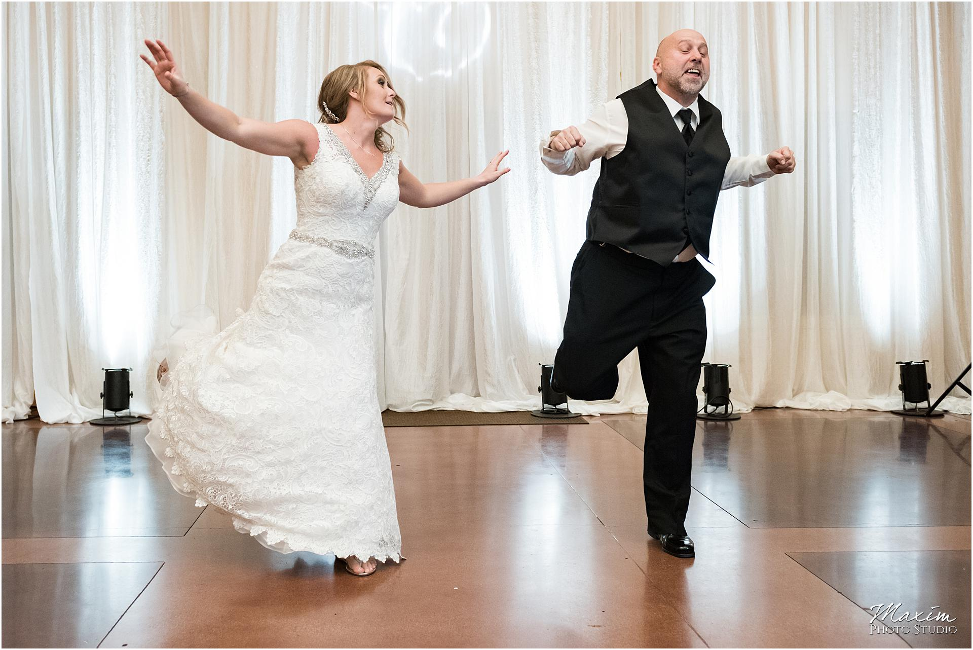 Canopy Creek Dayton Ohio Wedding Reception Father Daughter Dance