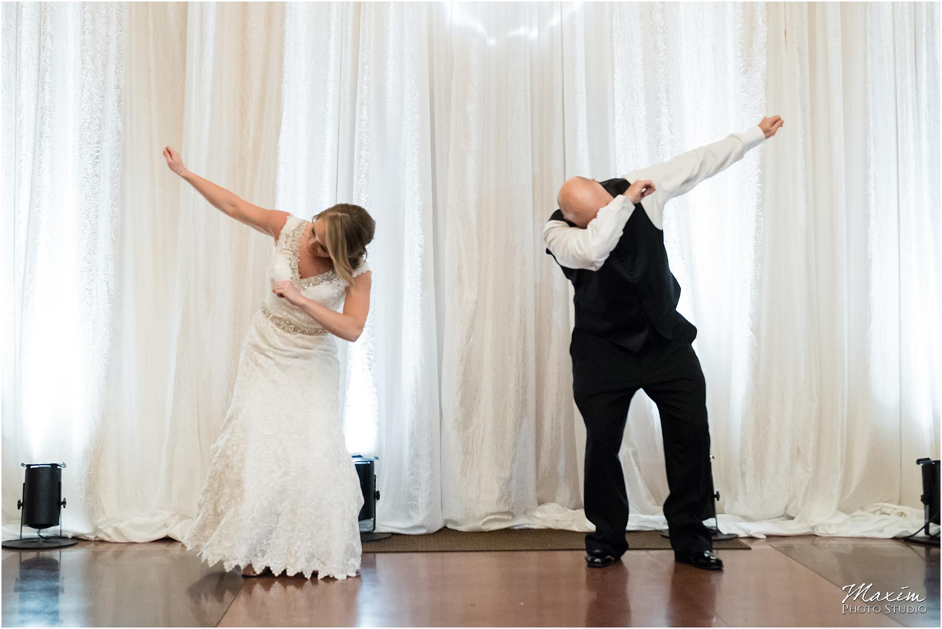 Canopy Creek Dayton Ohio Wedding Reception Father Daughter Dab Dance
