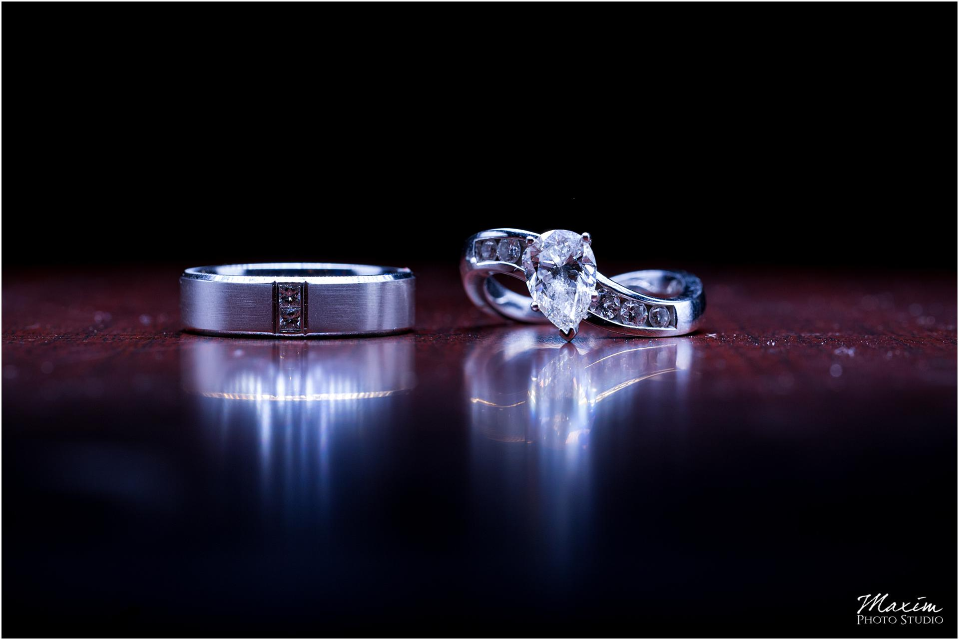 Manor House Indian Engagement wedding rings